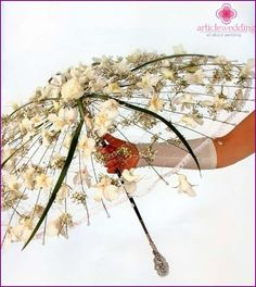 Resultado de imagen para decoracion de paraguas con flores