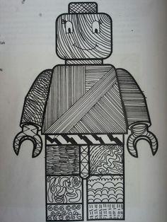 Arceren fineliner pattern