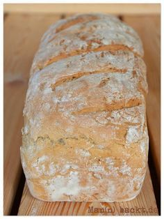 Delicious 10 minutes of bread - baking bread is that easy - man .- Leckeres 10 Minuten Brot – so einfach ist Brotbacken – Mann backt quick, simple rye mixed bread - Rice Recipes, Bread Recipes, Soup Recipes, Fast Recipes, Chicken Recipes, Food Cakes, Easy Desserts, Dessert Recipes, Dinner Recipes