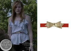 Shop Your Tv: Switched at Birth: Season 2 Episode 15 Daphne's Bow Belt