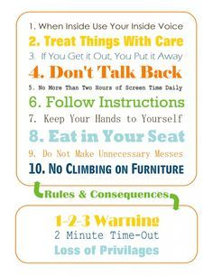 toddlers house rules - Google Search