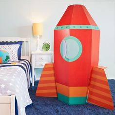 Check out Rocketship Stand In from Birthday In A Box