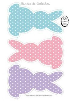 Banner Bunnies Easter & Cone Box Carrot Chevron Source by Easter Art, Easter Crafts For Kids, Easter Eggs, Easter Bunny Template, Bunny Templates, Easter Coloring Pages, Bunny Crafts, Easter Activities, Stuffed Animal Patterns