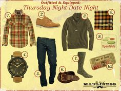 Outfitted & Equipped: Thursday Night Date Night