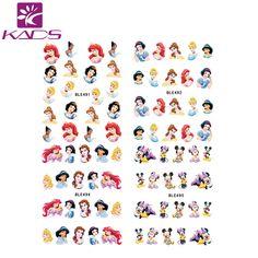 BLE488-498&BLE1786-1796 cartoon princess Tom Jerry optional Sticker DIY Manicure nail art water transfer Sticker Decration