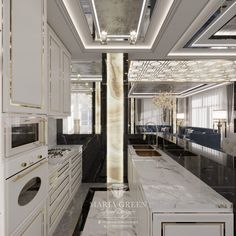 Art Deco House Design with Indoor Pool – Maria Green – Interior Designer White Ceiling, White Walls, Luxury Interior, Interior Design, Classical Elements, Art Deco Home, Cozy Fireplace, Ikea Furniture, Design Projects