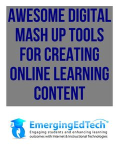Awesome Digital Mash Up Tools for Creating Digital Learning Content - Pinned from @Glossi, a free digital magazine creation platform