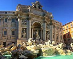 Trevi Fountain ⛲️ Throw a coin 💰Make a wish 💫  نافورة تريفي ⛲️ ارمي عملة معدنية 💰 و تمنى أمنية 💫 #easttowestadventures #travelbloggers #travelphotography #Rome #Vaticancity #pantheon #colusseum #stpetersbasilica #trevifountain #Italy #Europe #museums #trevifountain #makeawish #تصويري #مدونة #سفر #سافر #مسافرون #مسافرون_العرب #مغامرات_من_الشرق__الى_الغرب  #ايطاليا #روما #الفاتيكان #نافورة_تريفي #بانثيون #كولوسيوم #اوروبا