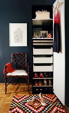 Organization inspiration featuring our PAX wardrobe.