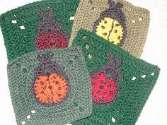 Ladybug Square (pattern)