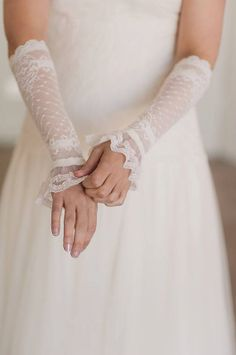 Hey, I found this really awesome Etsy listing at https://www.etsy.com/listing/90853424/bachelorette-ivory-lace-cuffs-ivory-lace