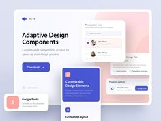 Best Landing Page Design, Best Landing Pages, Design Thinking, Motion Design, Profile Website, Website Header, Adaptive Design, Android App Design, Design Ios