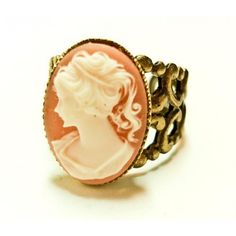 Amazing Brehan Todd- Vintage Cameo ring photo #Vintage #Cameo #Ring