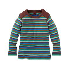 Fritzi Striped Purity Tee | Fritzi (frit-zee) is a German boy's name meaning peaceful ruler.