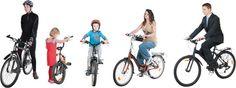 DOSCH DESIGN - DOSCH 2D Viz-Images: People - Bicycle