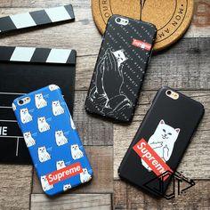 RIPNDIP アイフォン7 ケース iphone7 plusカバー  シュプリーム ネコ 可愛い