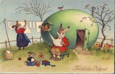 postcard Fritz Baumgarten