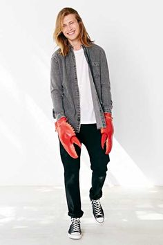 15 WTF Halloween Costumes Urban Outfitters Actually Wants You To Spend Money On Hipster Halloween Costume, Lobster Costume, Claw Gloves, Bear Coat, Wool Sweaters, Warm And Cozy, Urban Outfitters, Best Gifts, Bomber Jacket