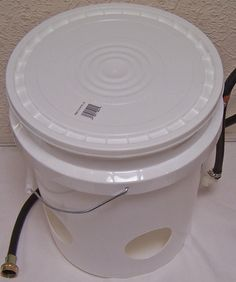 """eBayer says:  Custom Made 4 Hole Automatic Filling Chicken Waterer """"Best Out There"""" 