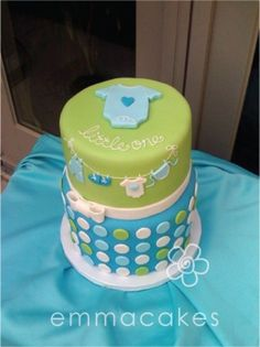 8 Baby Shower Cakes For Boys