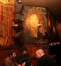 My favorite bar in NYC - Swift Hibernian Lounge #NYC #bars #Swift_Hibernian_Lounge