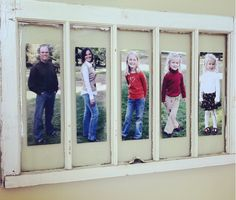 One of my favorite ways to decorate using vintage windows so shabby chic! #homedecor #vintage