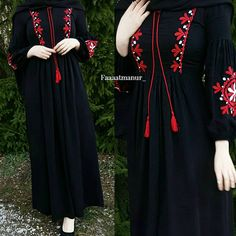 Muslim Women Fashion, Arab Fashion, Islamic Fashion, Modest Fashion, Fashion Dresses, Dress Brokat Muslim, Muslim Dress, Abaya Designs, Kurta Designs Women