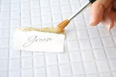 Wedding Crafts, Wedding Paper, Wedding Favours, Wedding Table, Diy Wedding, Wedding Decorations, Bridal Invitations, Stationery Paper, Wedding Place Cards