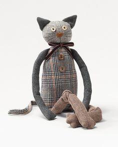 Tweed cat