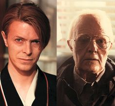 Legendary makeup artist Dick Smith's work on David Bowie in The Hunger (see also The Exorcist, Little, Big Man, Amadeus - the list goes on. Prosthetic Makeup, Sfx Makeup, Old Age Makeup, Tony Scott, Sky Tv, Hollywood Makeup, Special Makeup, Never Grow Old, The Exorcist
