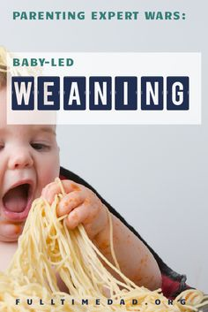 Baby-led weaning is, for some reason, controversial. However, it makes perfect sense, so that's the direction we're going with our daughter. via @fulltimedadblog