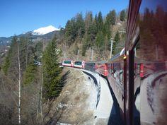 Roter Zug, Glacier Express