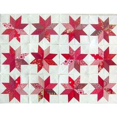 Lemoyne Star Quilt Pattern | Add it to your favorites to revisit it later.