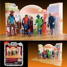 Kenner 12'' Star Wars Figure - Cantina Playset
