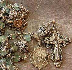 Rosary Prayer, Praying The Rosary, Holy Rosary, Prayer Beads, Catholic Jewelry, Rosary Catholic, Rosary Bracelet, Rosary Beads, Cross Jewelry