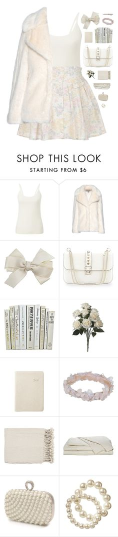 """707"" by glitterals ❤ liked on Polyvore featuring Pure Collection, STELLA McCARTNEY, Dorothy Perkins, Valentino, Graphic Image, Agent Provocateur, Surya, Mascara, Old Navy and Visconti"