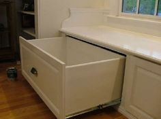 Drawers For Window Seat Window Bench In Kitchen Overs Drawer Window Seat