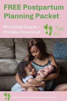 FREE Mini-Email Course with printable postpartum planning packet. A certified postpartum doula shares tips for creating your own postpartum plan. Learn how to get ready for your postpartum baby-moon today! #postpartum, #postpartumplan, #4thtrimester, #newbornseason