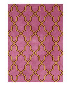 Pink Norton Rug by nuLOOM #zulily #zulilyfinds