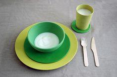 Big Bowl | cereal bowl | wasabi green #zuperzozial #biodegradable #capventure #dutchdesign #product #bowl #BigBowl