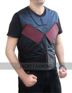 A Die Heart fan of Deadpool should wear his Colossus Vest outfit for Valentine's Day to render his style and impress your Special One.   #Deadpool #Colossus #Vest #fashion #fashionlover #fashionstyle #fashionblogger #memes #vintage #clothing #outfit #celebs #memes #geek #marvel #comic #cosplay #costume #hollywood #stylish #style #valentinesday #sale #holiday #model #moda #lifestyle