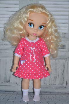 Disney Animator's Collection 16 Doll Dress by Symidollsclothes Toddler Dolls, Ag Dolls, Girl Dolls, Disney Animator Doll, Disney Dolls, Newberry Dolls, Little Disney Princess, Disney Animators Collection Dolls, Cinderella Doll