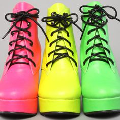 Ego and Greed, neon boots