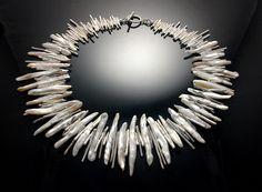 Biwa Pearl Necklace by Miranda Scott 2013