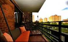 Large1Bedoorm Apt. - Terrace and Central Park View in New York City1 Bedroom Apartment on Upper 195n West Side ... Quite large by New York City standards. Lovely, Clean and Quite Spacious. Centrally located - SAFE, clean area, Near Broadway, Columbus Avenue ... 1 block from Central Park ( Not far from Tennis Courts, Running track around reservoir, and Free Pool in Central Park) and 5 Blocks from Riverside Park and boardwalk on the HUDSON RIVER (Great for Sunset Views).