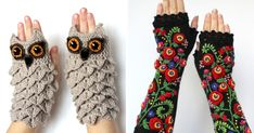 I Make Embroidered Mittens And Gloves That Will Keep Your Hands Warm | Bored Panda