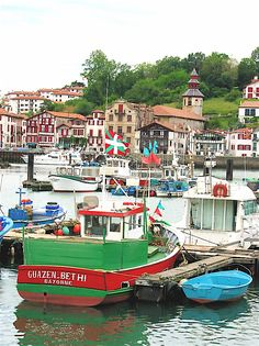 saint jean de luz, france - truly one of my favorite places! Aquitaine, South Of France, Paris France, Places Around The World, Around The Worlds, Culture Of France, Biarritz, Basque Country, Future Travel