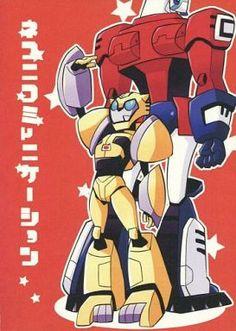 Transformers Doujinshi Futile Communication (Optimus Prime x Bumblebee)