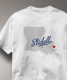 Slidell Louisiana LA Shirt Souvenir