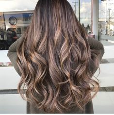 Medium Hair Cuts, Medium Hair Styles, Long Hair Styles, Balayage Hair Ash, Hair Highlights, Wedding Hair Colors, Hair Color For Women, Light Brown Hair, Hair Videos